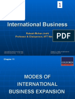 International Business Rakesh MOhan