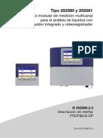Manual de B 202580.2.3 Descripción de interfaz PROFIBUS-DP