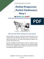 Future Perfect Progressive Story 1 Rocio2
