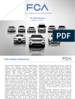 FCA 2016 FY and Q4 Results