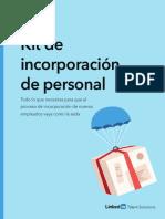 Kit Incorporación Personal