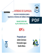 Presentación KPI - BSC