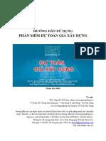 Huong Dan Su Dung Du Toan GXD V3010