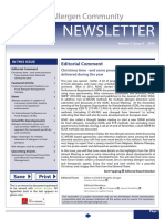 AOAC Food Allergen Community Newsletter 2016_Issue 3