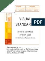 Visual Standards Report