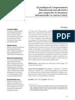 El paradigma de Comportamiento Informacional como alternativa para comprender los fenmenos informacionales en América Latina1.pdf
