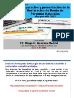 Diapositivas DECLARACION RENTA PERSONA NATURAL