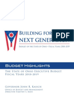 FY18-19 Budget Highlights