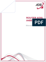 Manual Router A4000N