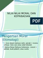 Moral & Kepribadian