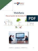 WebRatio Servicios Financieros