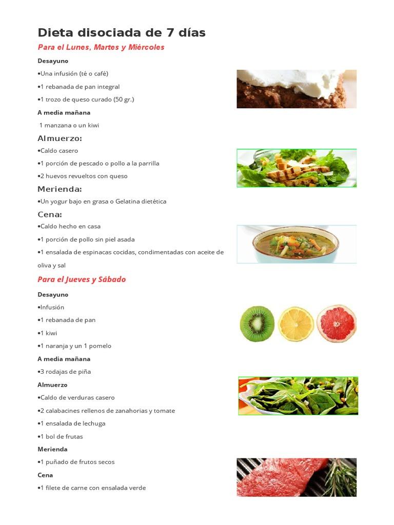 Dieta disociada 7 dias pdf