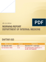 Morning Report Ipd 05-12-14