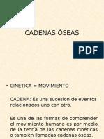 Cadenas Óseas