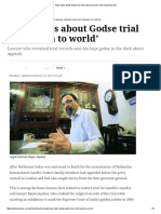 'Many Facts About Godse Trial Not Known to World' _ the Indian Express