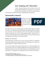 Hamburg Text Und Fragen