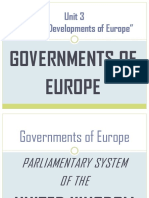 Governments of Europe