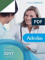 Cuadro Medico Basic o Valencia 2017
