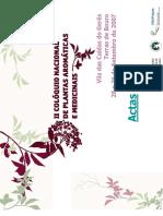 Flora Aromatica e Medicinal Do Nordeste