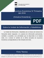 Resultados UIE de La CCM 4-2016