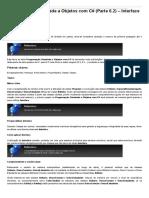 Sinergia - Programação Orientada a Objetos Com C# (Parte 6.2) – Interface