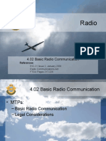 4.02 Basic Radio Communications