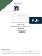 Proyecto Final (Operadora Turismo (CUBILLINES ADVENTURES)