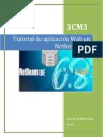 Práctica 3 -Tutorial Construcción de Aplicaciones Web en NetBeans
