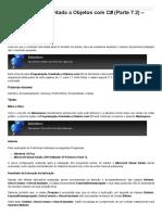 Sinergia - Programação Orientada a Objetos Com C# (Parte 7.2) – Namespace
