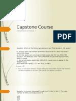 Capstone Comprehensive Practice i