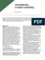 Cost Control Efficiencies