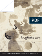 Patricia Ticineto Clough; Jean OMalley Halley the Affective Turn Theorizing the Social