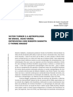 Victor Turner e a antropologia no Brasil. Duas visões. Entrevistas com Roberto DaMatta e Yvonne Maggie.pdf