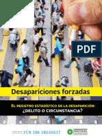 Fascículo Desapariciones
