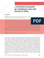 The problem of greed in economic anthropology - Sumptuary laws and new consumerism in China_Joseph Bosco.pdf