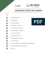 Catalogo Industria Plastico Deltalab Akralab.