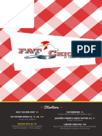 Fat Chicken menu