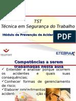 TST Prevenção Acidentes AULA 4