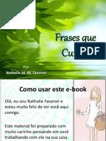 Frases Que Curam eBook Sem Audio