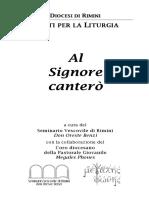 Libretto Canti 2010
