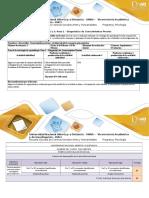 403016Guia y Rubrica-evaluación Inicial Paso 1 Diagnostico