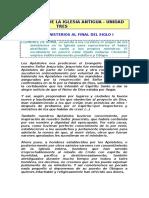 000112 40 - Los Ministerios a Finales Del Siglo I - Clemente