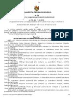 Lege Cu Privire La Reorganizarea Instanţelor Judecătoreşti Nr.76 Din 2016 (RM)