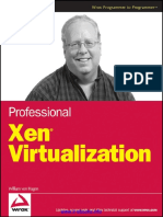 Professional Xen Virtualization