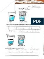 science evaporation studnet examples