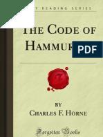 The Code of Hammurabi - 9781605060514