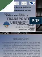 Presentacion Transporte Urbano-Sistemas de Transporte