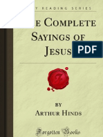 The Complete Sayings of Jesus - 9781606200377