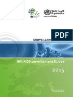 HIV AIDS Surveillance Europe 2015