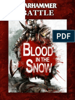 Warhammer Blood in the Snow